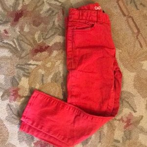 Gap boys red jeans